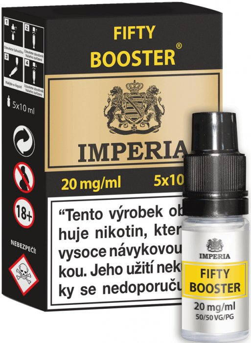 Booster IMPERIA 5x10ml PG50-VG50 20mg