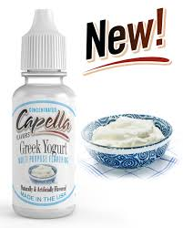 13ml Capella - Greek Yogurt/Grécky jogurt