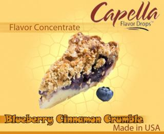 13ml Capella - Blueberry Cinnamon Crumble