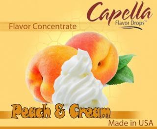 13ml Capella - Peach & Cream