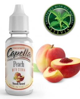 13ml Capella - Broskyňa so Steviou / Peach with Stevia