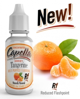 13ml Capella - Mandarinka / Sweet Tangerine Rf