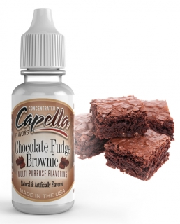 13ml Capella - Čokoládové brownies / Chocolate Fudge Brownie