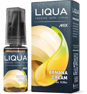 Liqua MIX Banana Cream 10ml PG+VG
