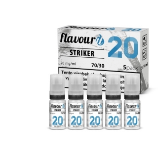 5x10ml Flavourit STRIKER - 20mg booster