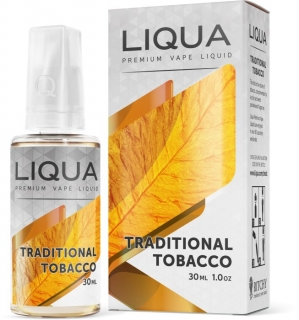 Liqua Elements Traditional Tobacco 30ml PG+VG 0mg