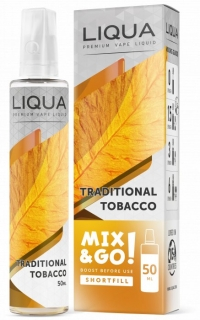 Liqua Mix&Go Traditional Tobacco 50ml-0mg