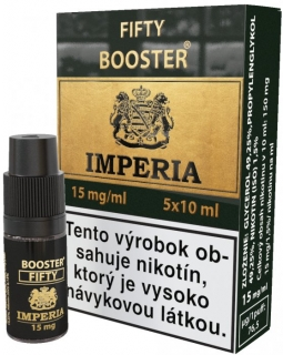 Booster IMPERIA 5x10ml PG50-VG50 15mg