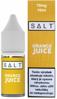 E-liquid Juice Sauz SALT Orange Juice 10ml - 10mg