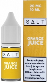 E-liquid Juice Sauz SALT Orange Juice 10ml - 20mg